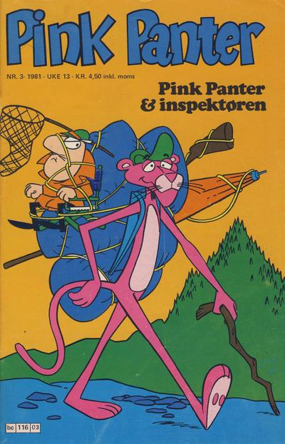 Cover for Pink Panter (Semic, 1977 series) #3/1981