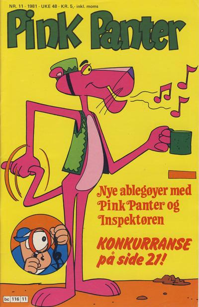 Cover for Pink Panter (Semic, 1977 series) #11/1981