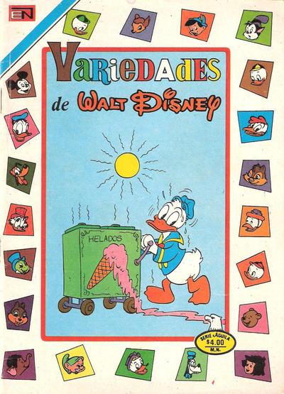 Cover for Variedades de Walt Disney (Editorial Novaro, 1967 series) #267