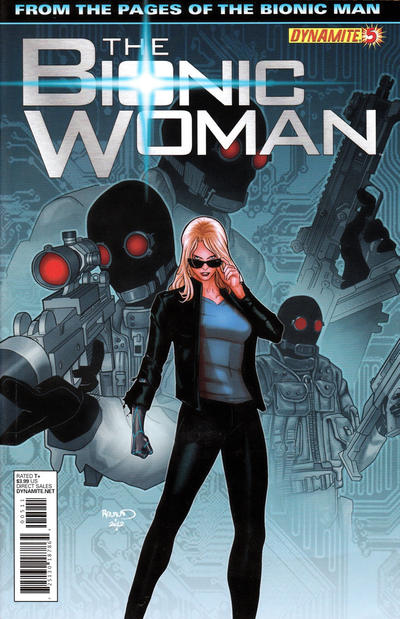 Cover for The Bionic Woman (Dynamite Entertainment, 2012 series) #5