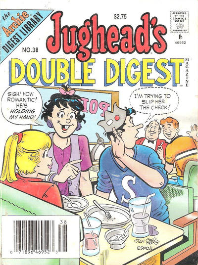 Cover for Jughead's Double Digest (Archie, 1989 series) #38 [Newsstand]