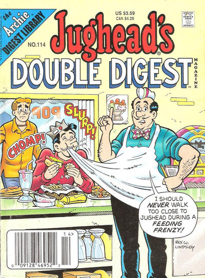 Cover for Jughead's Double Digest (Archie, 1989 series) #114 [Newsstand]