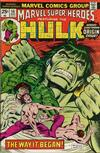 Cover for Marvel Super-Heroes (Marvel, 1967 series) #56