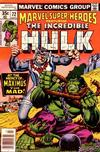 Cover for Marvel Super-Heroes (Marvel, 1967 series) #72 [Regular Edition]