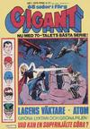 Cover for Gigant (Semic, 1976 series) #1/1979