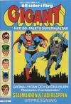 Cover for Gigant (Semic, 1976 series) #2/1980