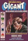 Cover for Gigant (Semic, 1976 series) #3/1980