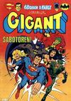 Cover for Gigant (Semic, 1976 series) #6/1981