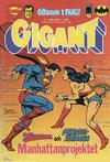 Cover for Gigant (Semic, 1976 series) #7/1981