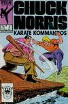 Cover for Chuck Norris (Marvel, 1987 series) #3