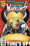 Cover for The New Warriors (Marvel, 1990 series) #50 [Glow in the Dark Cover]