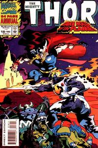 Cover Thumbnail for Thor Annual (Marvel, 1966 series) #18