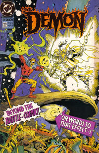 Cover for The Demon (DC, 1990 series) #20