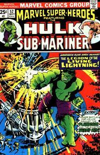 Cover for Marvel Super-Heroes (Marvel, 1967 series) #52