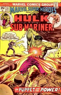 Cover Thumbnail for Marvel Super-Heroes (Marvel, 1967 series) #53