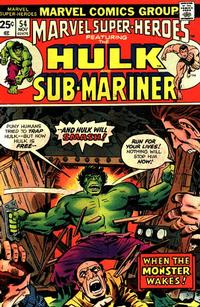 Cover Thumbnail for Marvel Super-Heroes (Marvel, 1967 series) #54