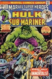 Cover Thumbnail for Marvel Super-Heroes (Marvel, 1967 series) #55 [25¢ Cover Price]