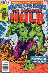 Cover Thumbnail for Marvel Super-Heroes (Marvel, 1967 series) #59