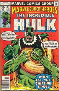 Cover for Marvel Super-Heroes (Marvel, 1967 series) #67