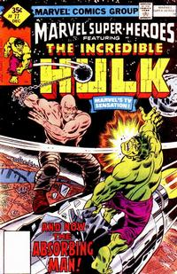 Cover for Marvel Super-Heroes (Marvel, 1967 series) #77 [Whitman Edition]