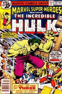 Cover Thumbnail for Marvel Super-Heroes (Marvel, 1967 series) #79