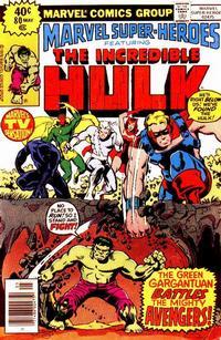 Cover for Marvel Super-Heroes (Marvel, 1967 series) #80