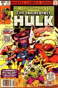 Cover for Marvel Super-Heroes (Marvel, 1967 series) #90 [Direct Edition]