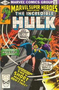 Cover for Marvel Super-Heroes (Marvel, 1967 series) #93