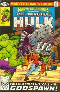 Cover Thumbnail for Marvel Super-Heroes (Marvel, 1967 series) #94