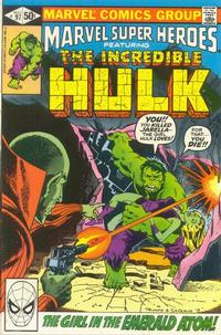 Cover Thumbnail for Marvel Super-Heroes (Marvel, 1967 series) #97 [Direct Edition]
