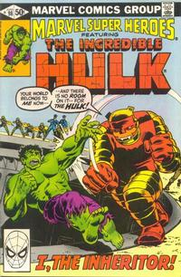 Cover for Marvel Super-Heroes (Marvel, 1967 series) #98