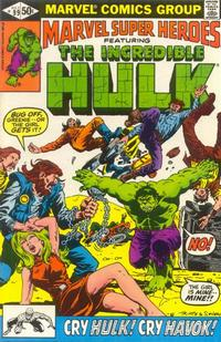 Cover Thumbnail for Marvel Super-Heroes (Marvel, 1967 series) #99 [Direct Edition]