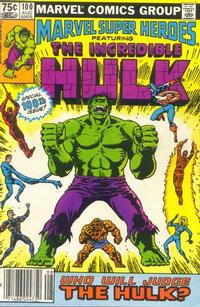 Cover Thumbnail for Marvel Super-Heroes (Marvel, 1967 series) #100 [Newsstand]