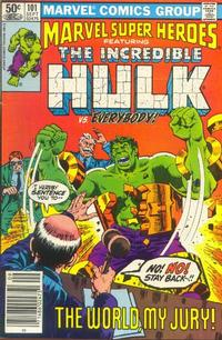 Cover for Marvel Super-Heroes (Marvel, 1967 series) #101