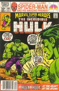 Cover Thumbnail for Marvel Super-Heroes (Marvel, 1967 series) #104
