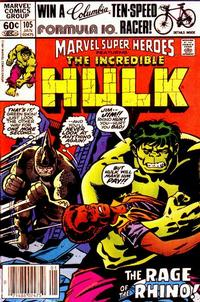 Cover Thumbnail for Marvel Super-Heroes (Marvel, 1967 series) #105