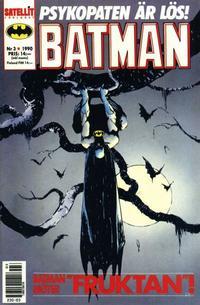 Cover Thumbnail for Batman (SatellitFörlaget, 1989 series) #3/1990