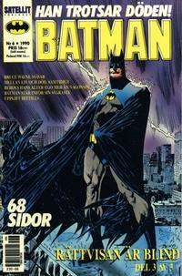 Cover Thumbnail for Batman (SatellitFörlaget, 1989 series) #6/1990