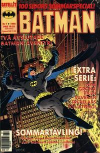 Cover Thumbnail for Batman (SatellitFörlaget, 1989 series) #7/1990
