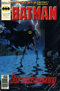 Cover Thumbnail for Batman (SatellitFörlaget, 1989 series) #10/1990