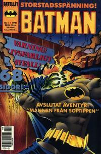 Cover Thumbnail for Batman (SatellitFörlaget, 1989 series) #1/1991