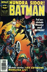 Cover Thumbnail for Batman (SatellitFörlaget, 1989 series) #4/1991