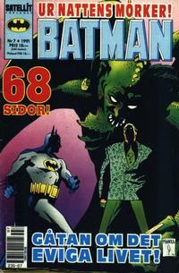 Cover Thumbnail for Batman (SatellitFörlaget, 1989 series) #7/1991