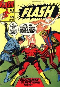 Cover Thumbnail for Flash (Williams Förlags AB, 1971 series) #2/1972