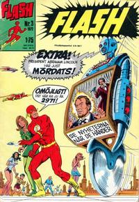 Cover Thumbnail for Flash (Williams Förlags AB, 1971 series) #3/1972