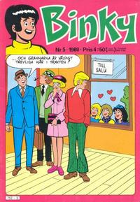 Cover Thumbnail for Binky (Semic, 1976 series) #5/1980