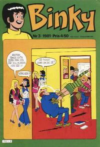 Cover Thumbnail for Binky (Semic, 1976 series) #3/1981