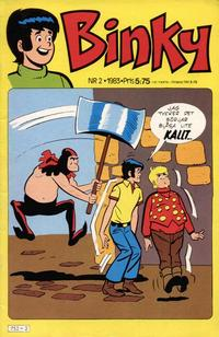 Cover Thumbnail for Binky (Semic, 1976 series) #2/1983
