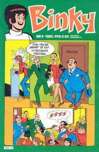 Cover Thumbnail for Binky (Semic, 1976 series) #4/1983