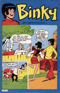 Cover Thumbnail for Binky (Semic, 1976 series) #5/1983